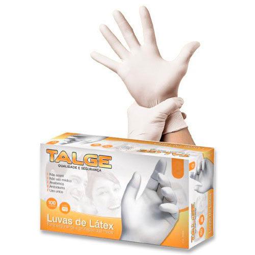 Luva Talge Latex com pó Descarpack (TAM G) – 100 UN – DermaShop 134a798df6